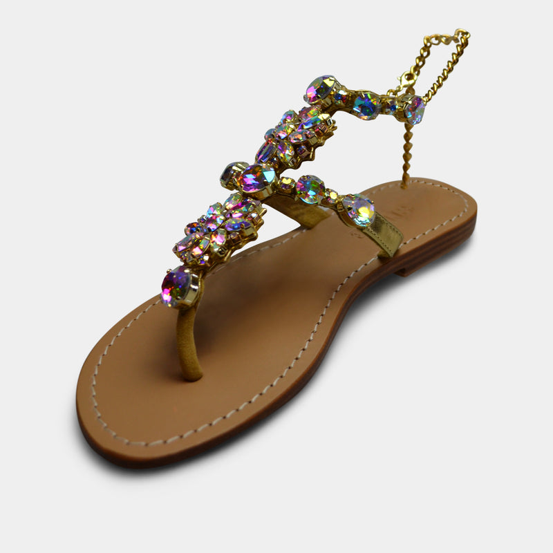 MYSTIQUE AKITA SANDAL IN MULTI COLOR