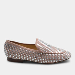 LOLA CRUZ LOAFERS IN PINK