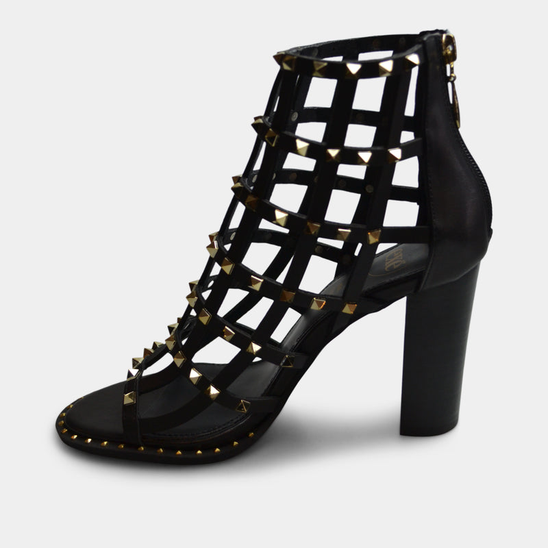 EXE' SHIRLEY HEEL IN BLACK