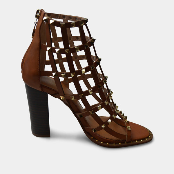 EXE' SHIRLEY HEEL IN TAN