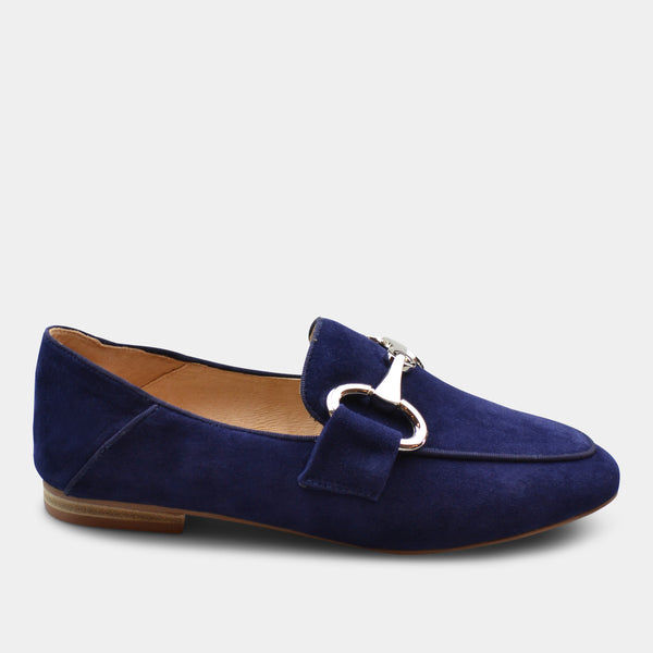 BIBI LOU LOAFERS IN BLUE