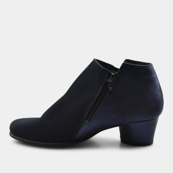 ARCHE MUSHKA BOOTIE IN BLUE METALLIC
