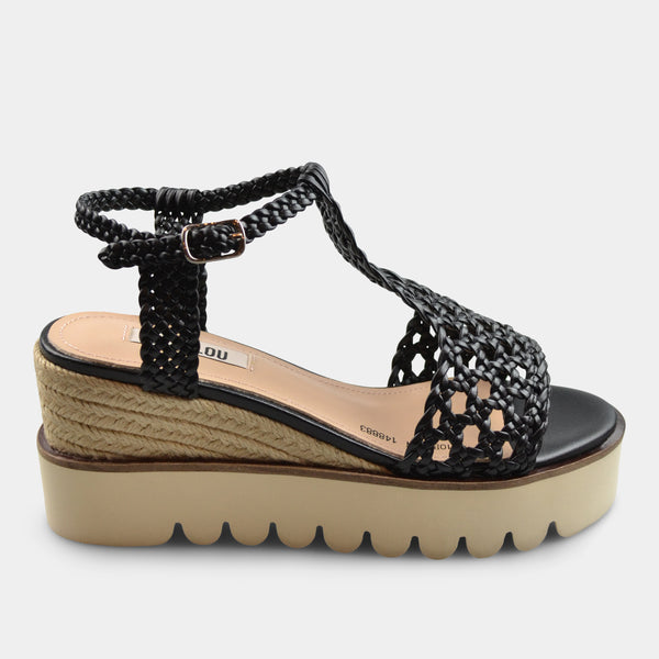BIBI LOU SANDAL IN BLACK