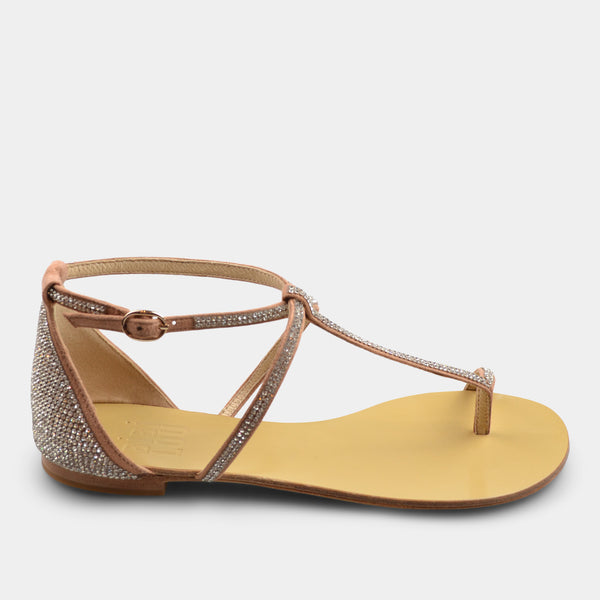 BIBI LOU SANDALS IN SOFT PINK