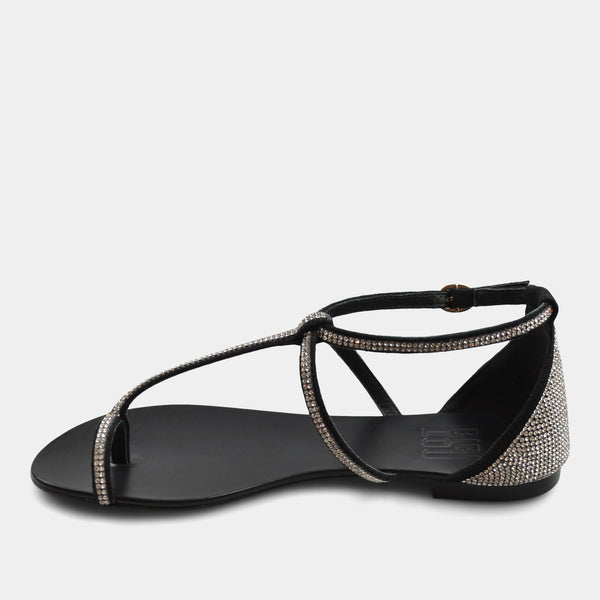 BIBI LOU SANDALS IN BLACK