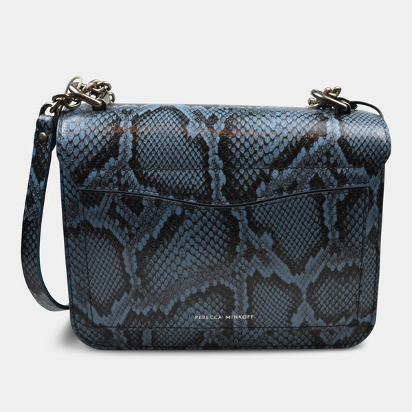 REBECCA MINKOFF LOVE TOO CROSSBODY IN BLUE