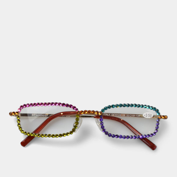 FASHION BY A STEP ABOVE READING GLASSES COLORFUL LENS
