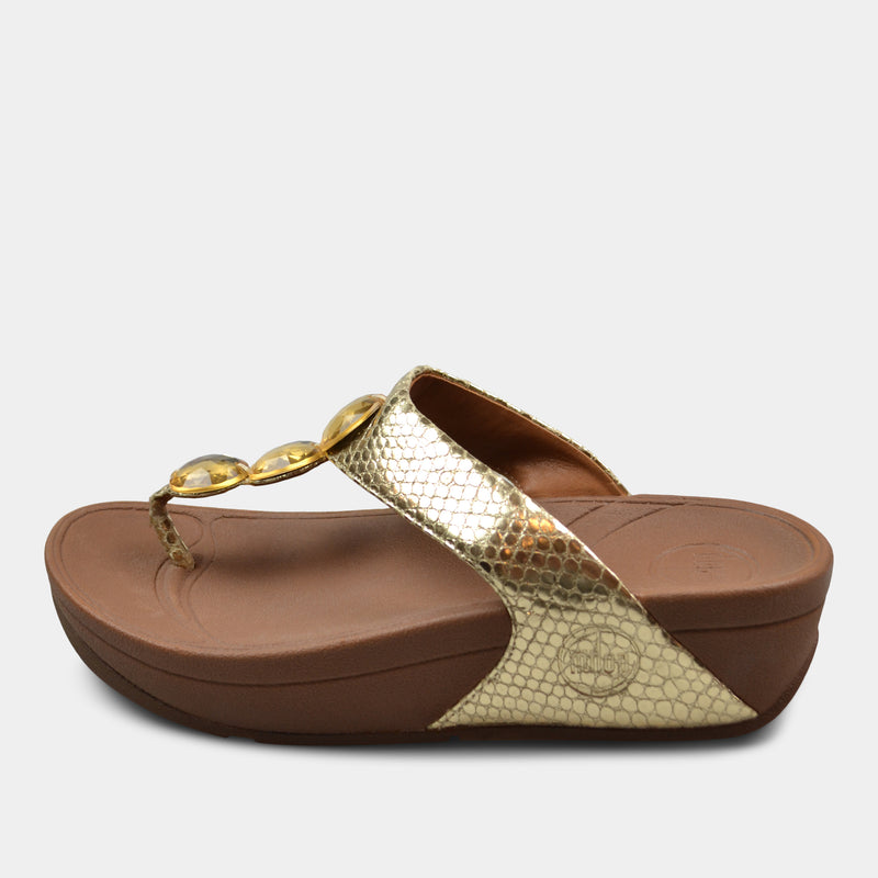 FITFLOP HALO SANDALS IN GOLD