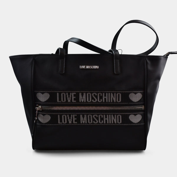 LOVE MOSCHINO NYLON TOTE