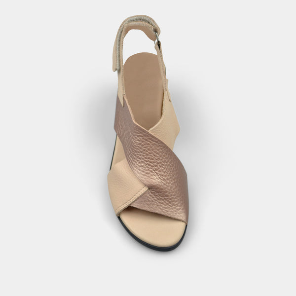ARCHE VAYEST SANDALS IN NUDE