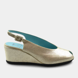 THEIRRY RABOTIN CASSANDRA WEDGE IN SILVER