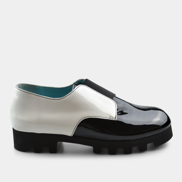 THIERRY RABOTIN RENZO IN PATENT LEATHER