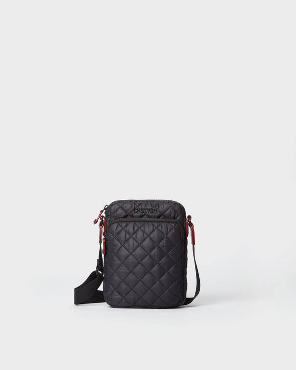 MZ WALLACE  METRO CROSSBODY BAG IN BLACK