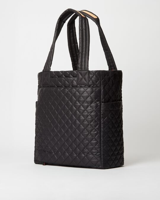 MZ WALLACE MAX TOTE IN BLACK