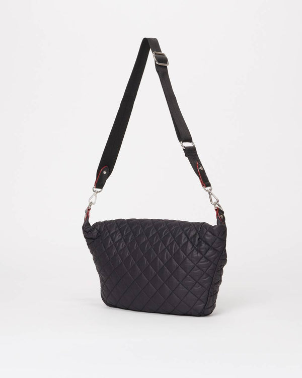 MZ WALLACE CROSBY SLING BAG IN BLACK