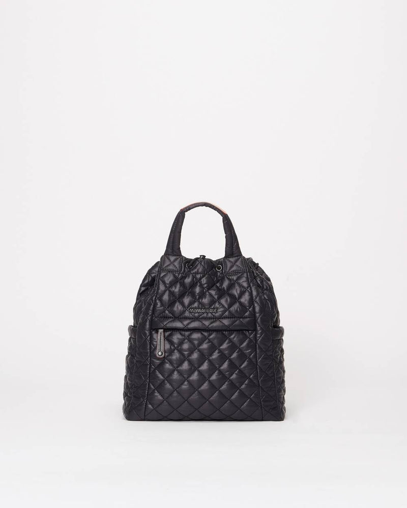 SMALL METRO CONVERTIBLE BACKPACK IN BLACK