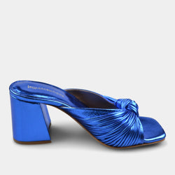 JEFFREY CAMPBELL MELONGER IN BLUE METALLIC