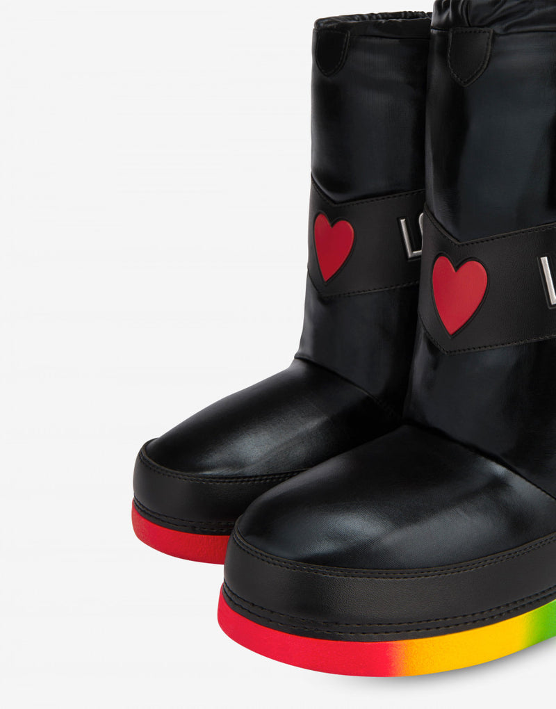 SNOW ANKLE BOOTS RAINBOW SOLE