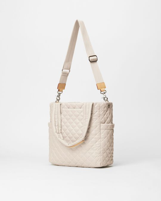 MZ WALLACE SMALL MAX TOTE IN MUSHROOM