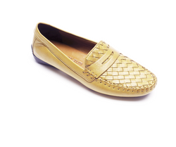 ROBERT ZUR PETRA LOAFER IN SHELL TRUE GLOVE