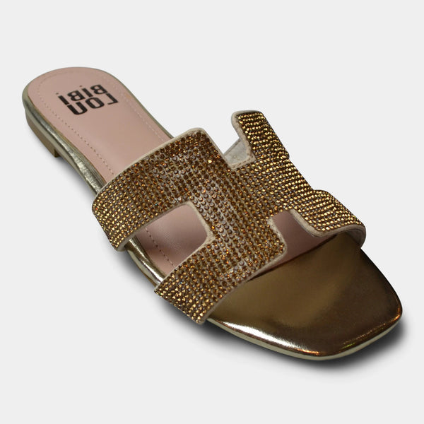 BiBi LOU SANDAL IN GOLD