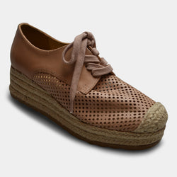 BOTTERO SNEAKER WEDGE IN NUDE