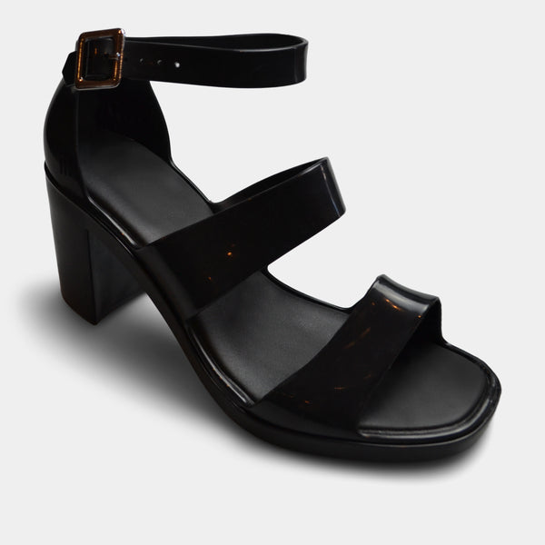 MELISSA SANDAL IN BLACK