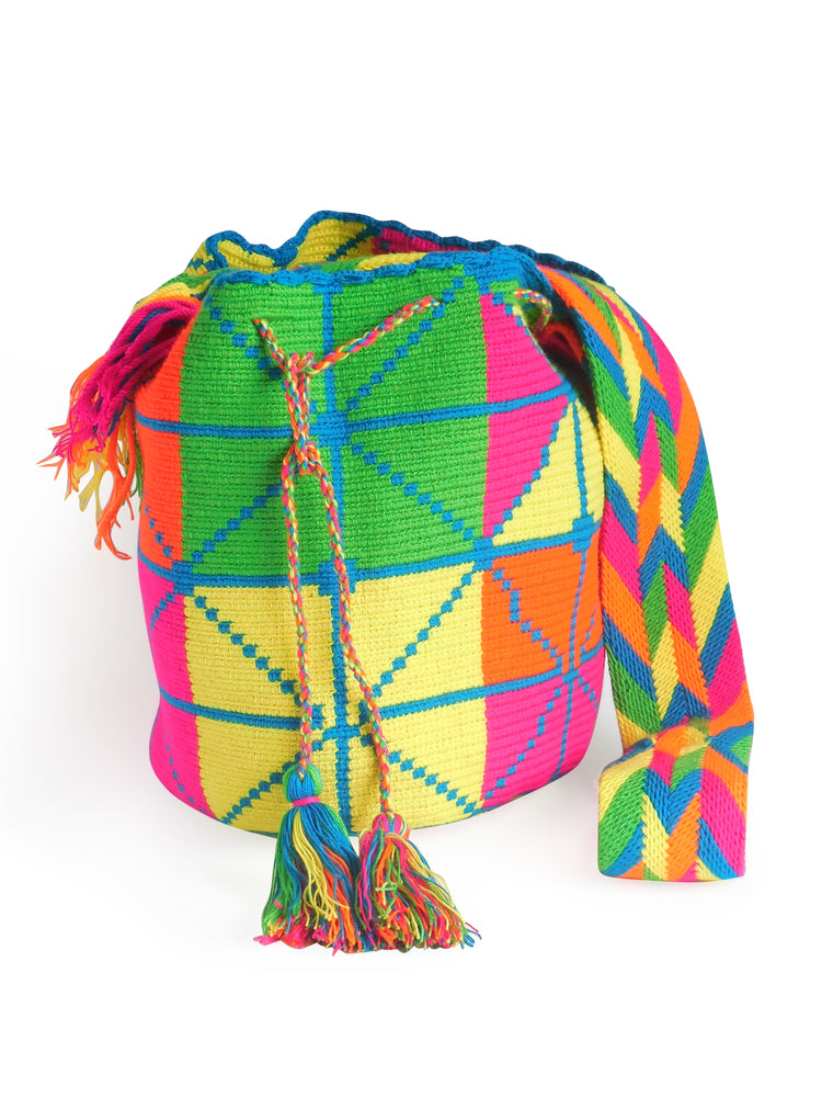 The Grid Of Life Mochila Bag