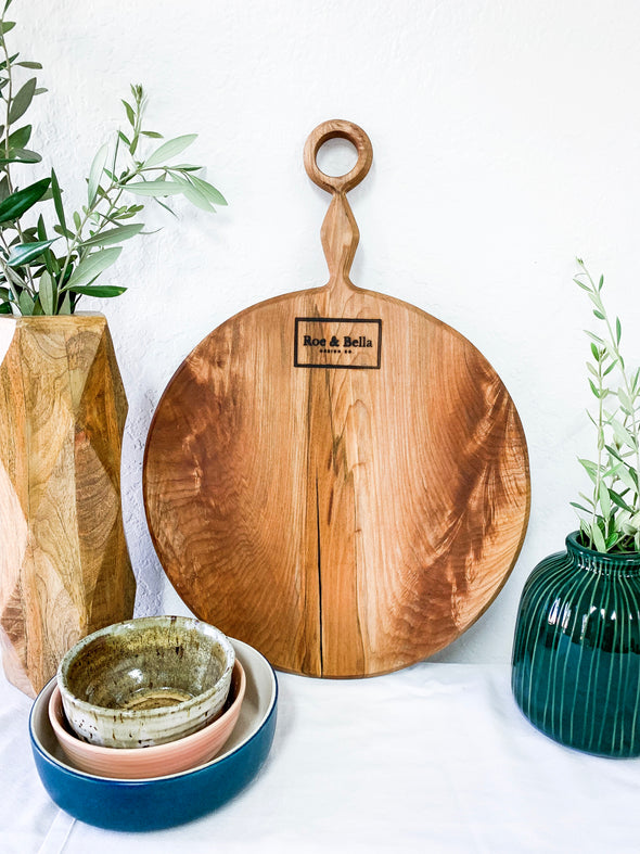 Monroe Maple Charcuterie Board - Small