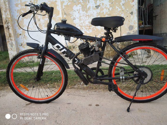 How a 14 year old kid Motorized his OMO Bike 1.0