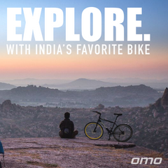 Omobikes hampi 700 road bike suitable for any road