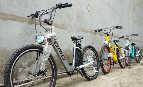 OMO India top 10 electric cycle with fat tyres