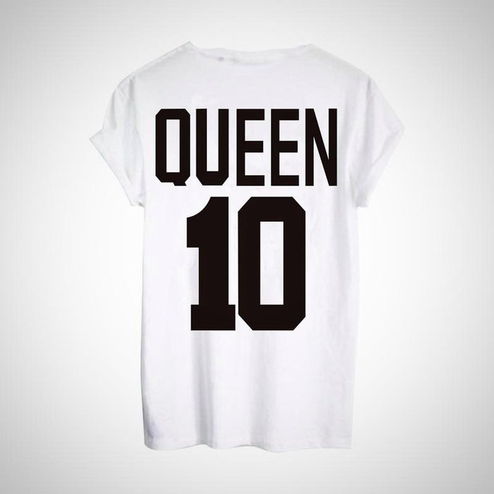 King Queen T-shirt