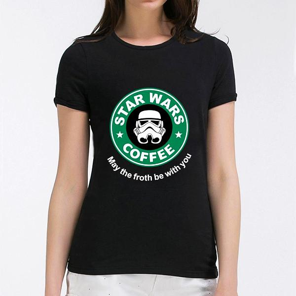 Star Wars Coffee Tee