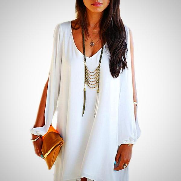 Loose Neck Dress
