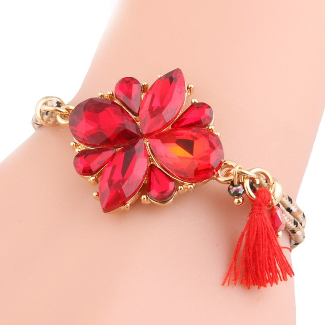 Alloy Crystal Bracelet