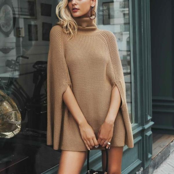 Gussie Sweater Cape