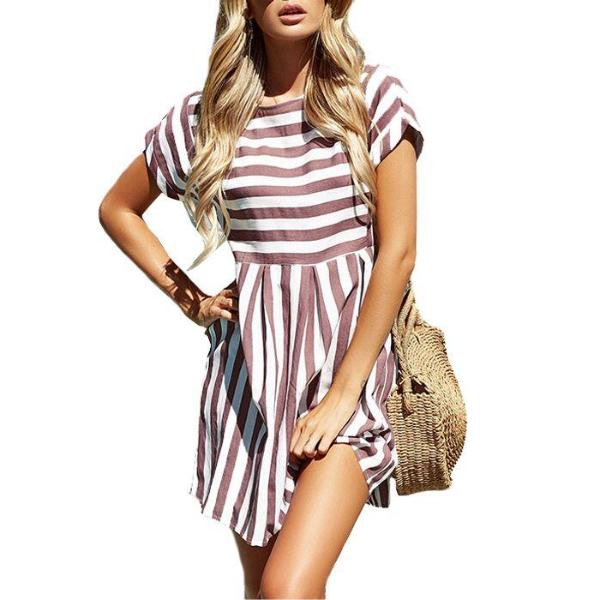 Leila Stripe Dress