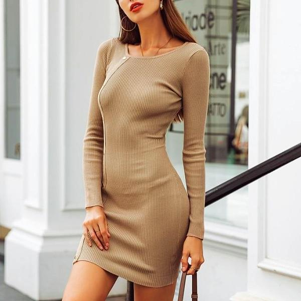 Lucy Knitted Dress