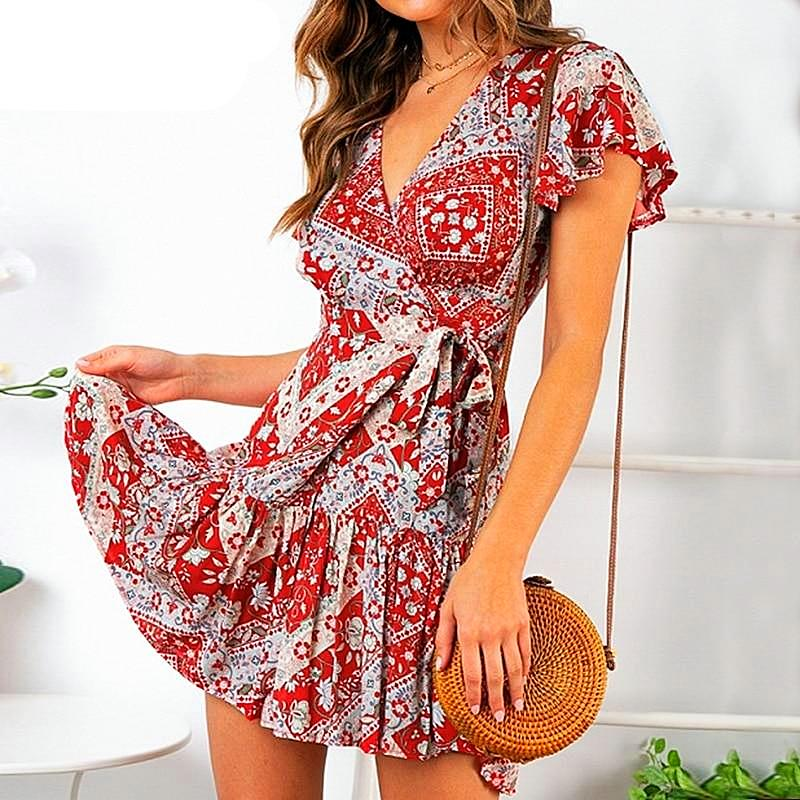 Wilma Floral Dress