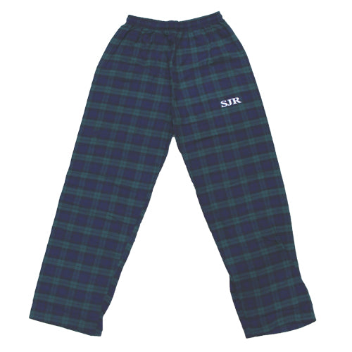 SJR Plaid Pajama Pant - Adult