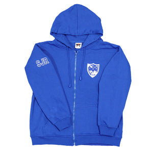 Waudby House Zip Front Hoody - Youth
