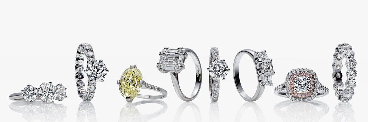 Custom Made Diamond Engagement Rings and Wedding Bands at Arman's Jewellers in Kitchener-Waterloo