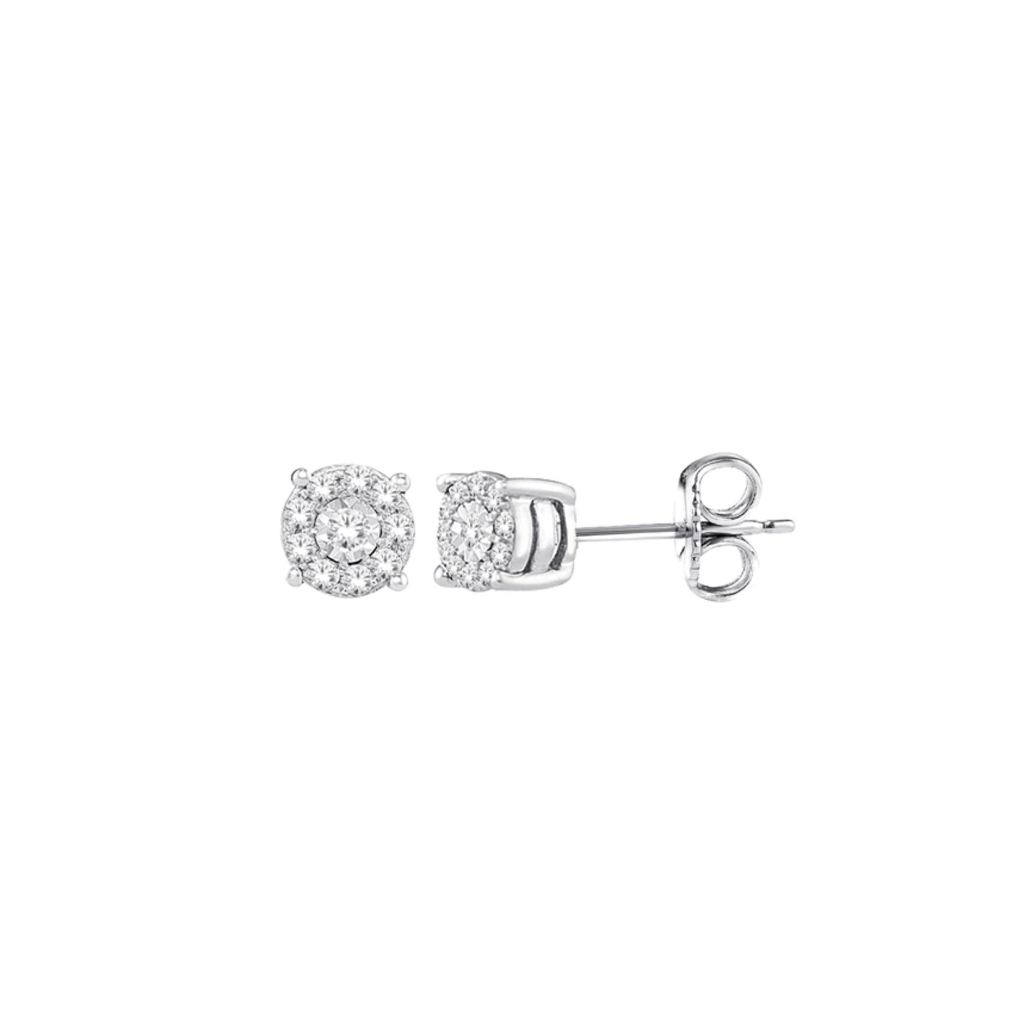 10K Star Bright Diamond Stud Earrings (0.05 CT. TW.) at Arman's Jewellers
