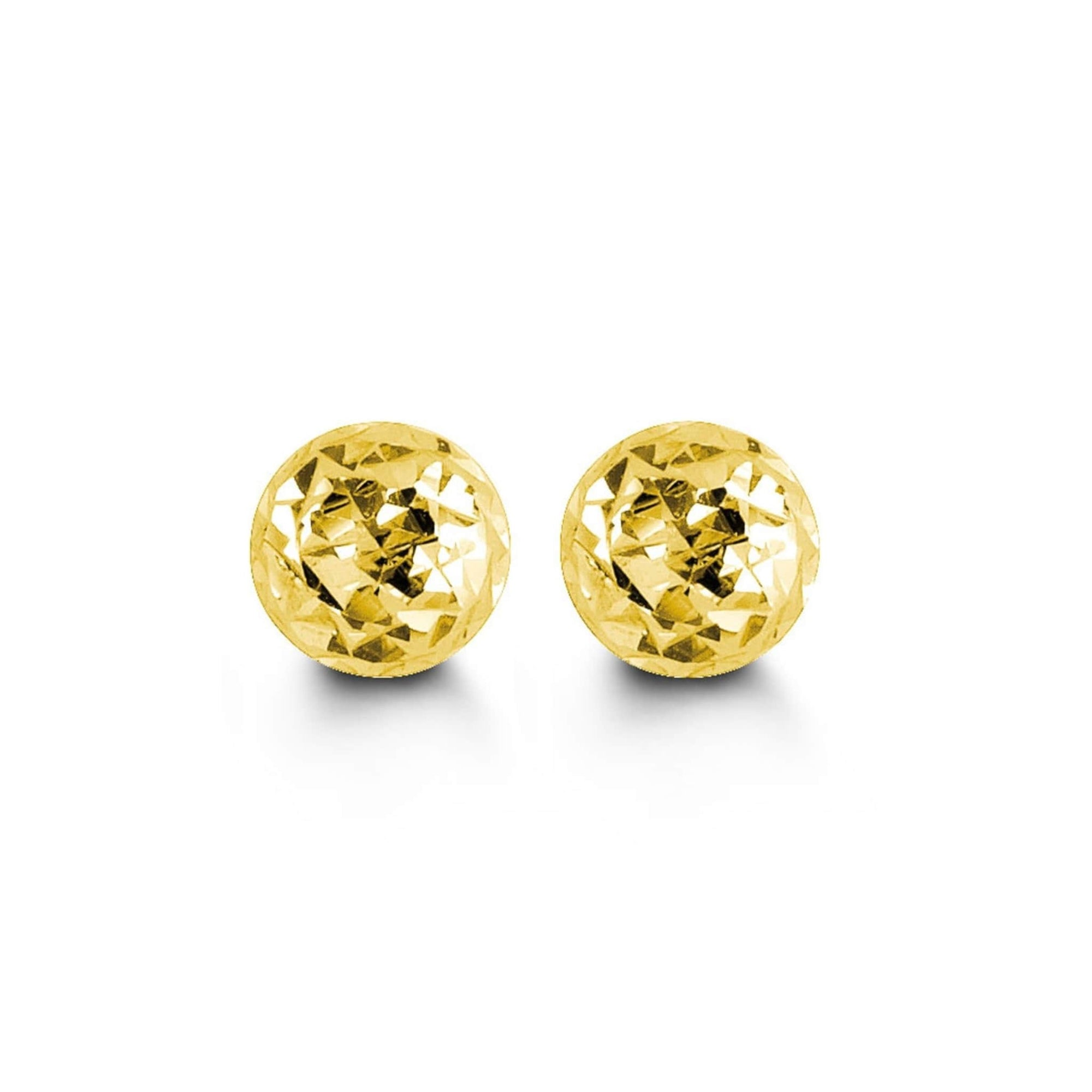5mm 10K Yellow Gold Cosmo Stud Earrings at Arman's Jewellers