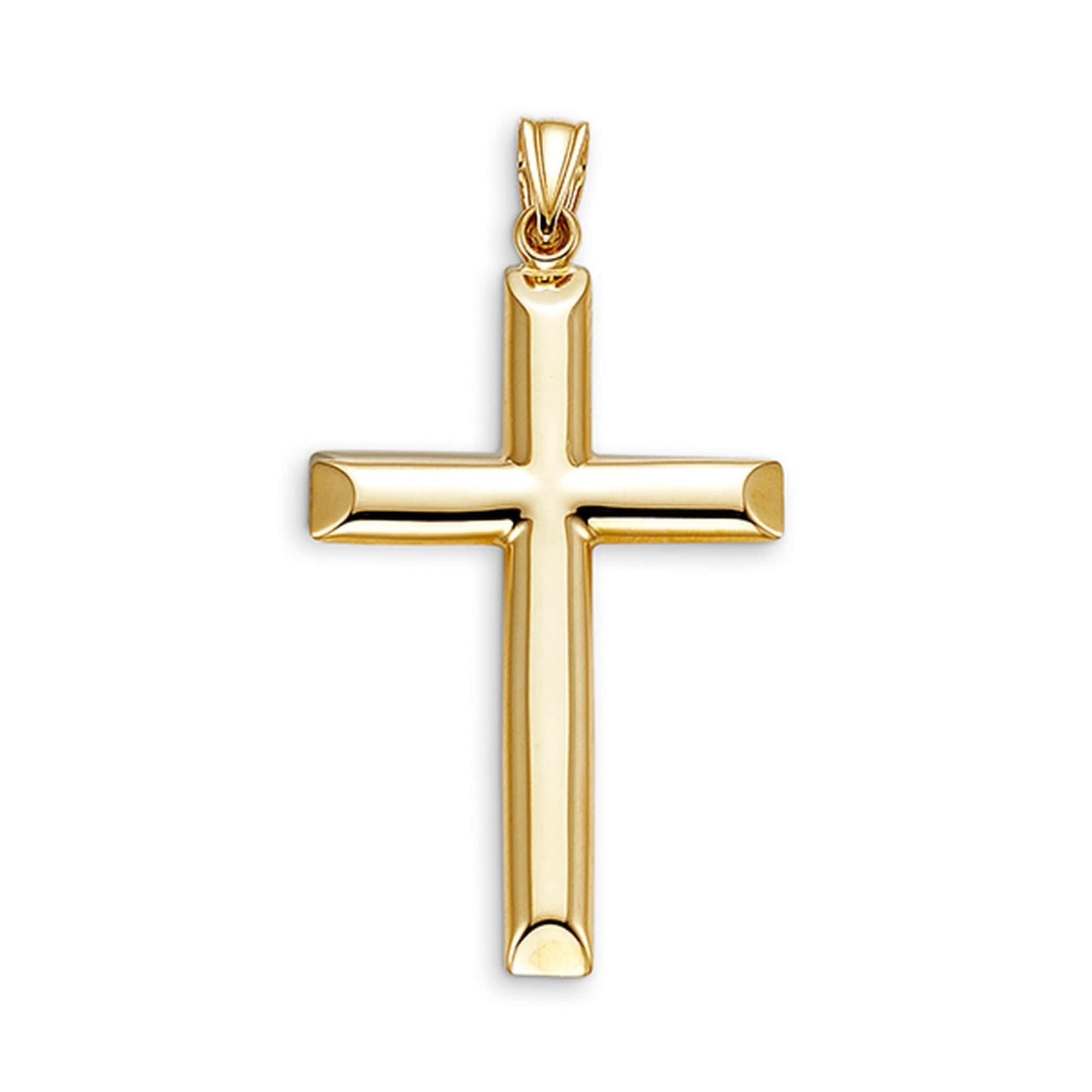 10K Yellow Gold Cross Pendant at Arman's Jewellers