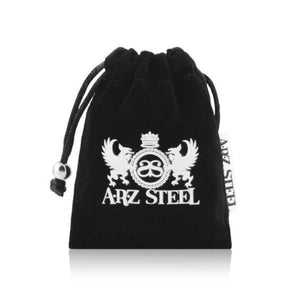 ARZ Steel Jewelry Luxury Pouch