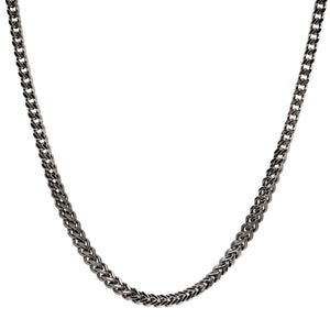 6mm Stainless Steel Franco Link Chain Necklace
