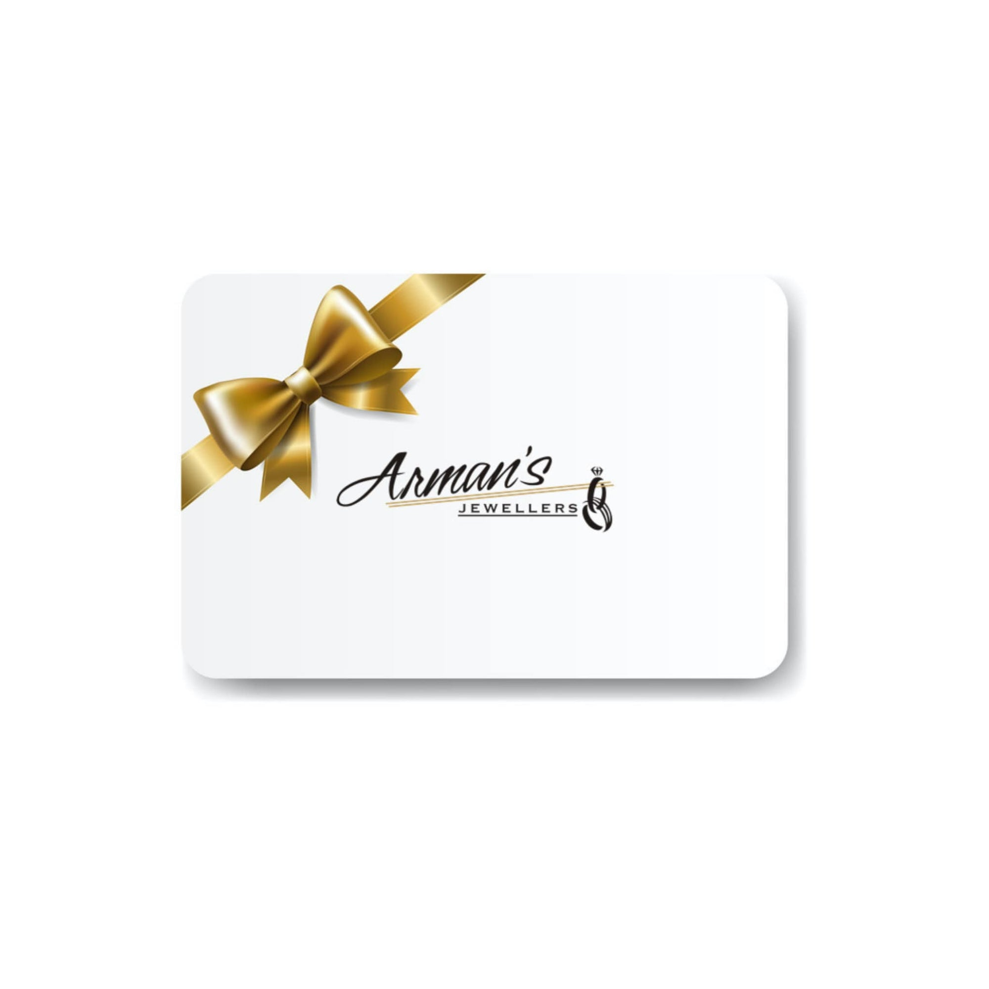 Arman's Jewellers Kitchener Online Gift Card