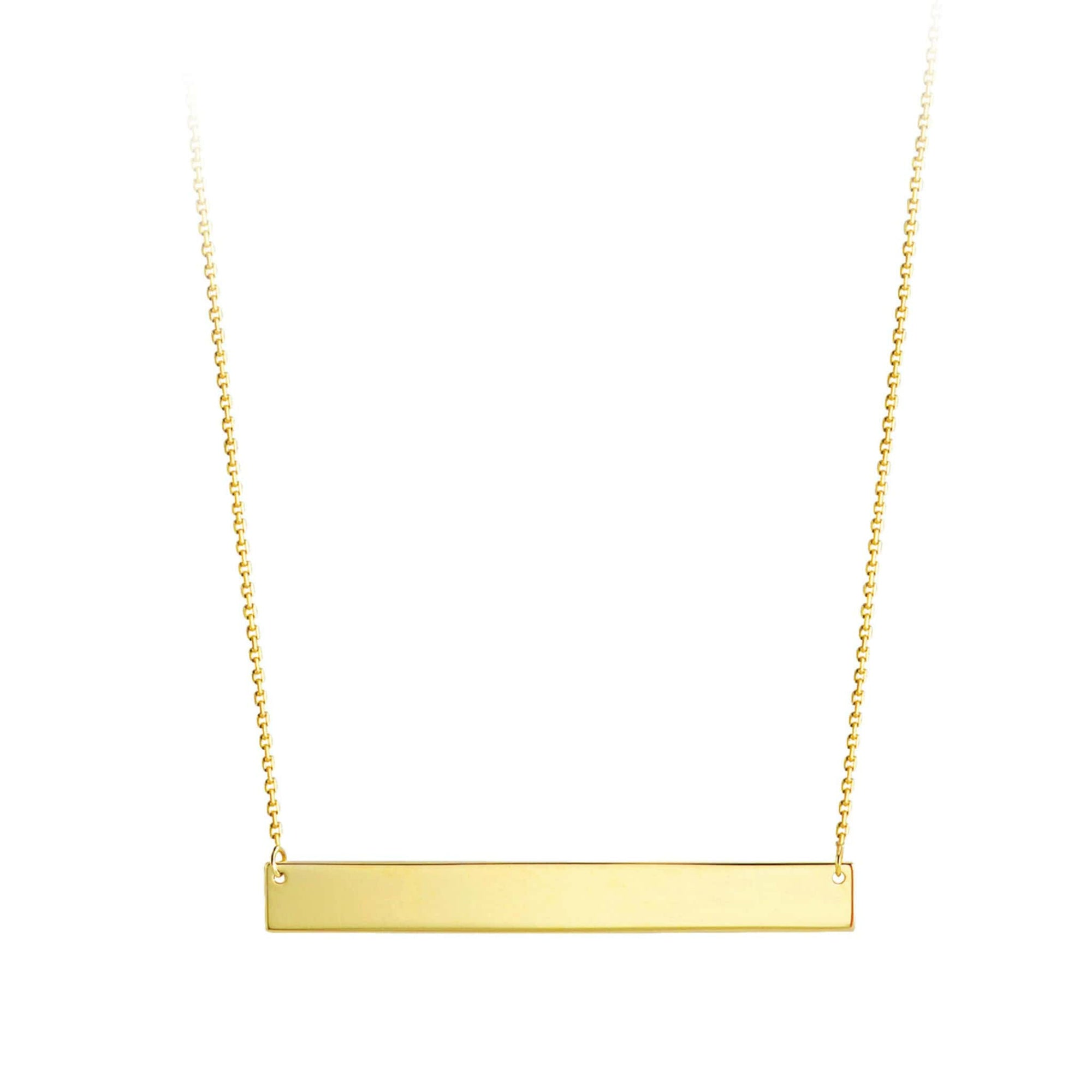 Bella 10K Yellow Gold Monogram Necklace at Armans Jewellers Kitchener